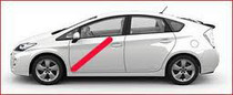 Taxi Prius ecólogico